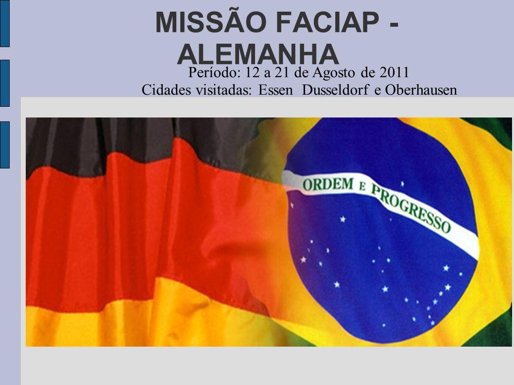 MISSÃO FACIAP - ALEMANHA