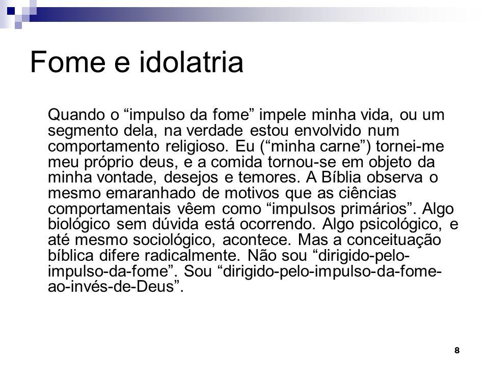 Fome e idolatria