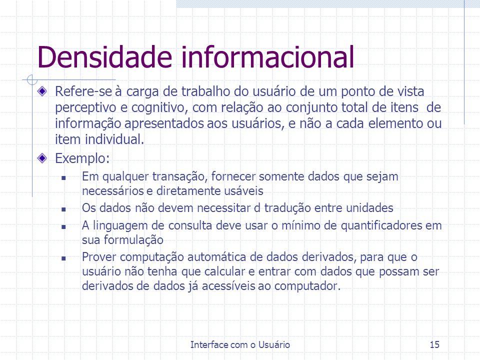 Densidade informacional