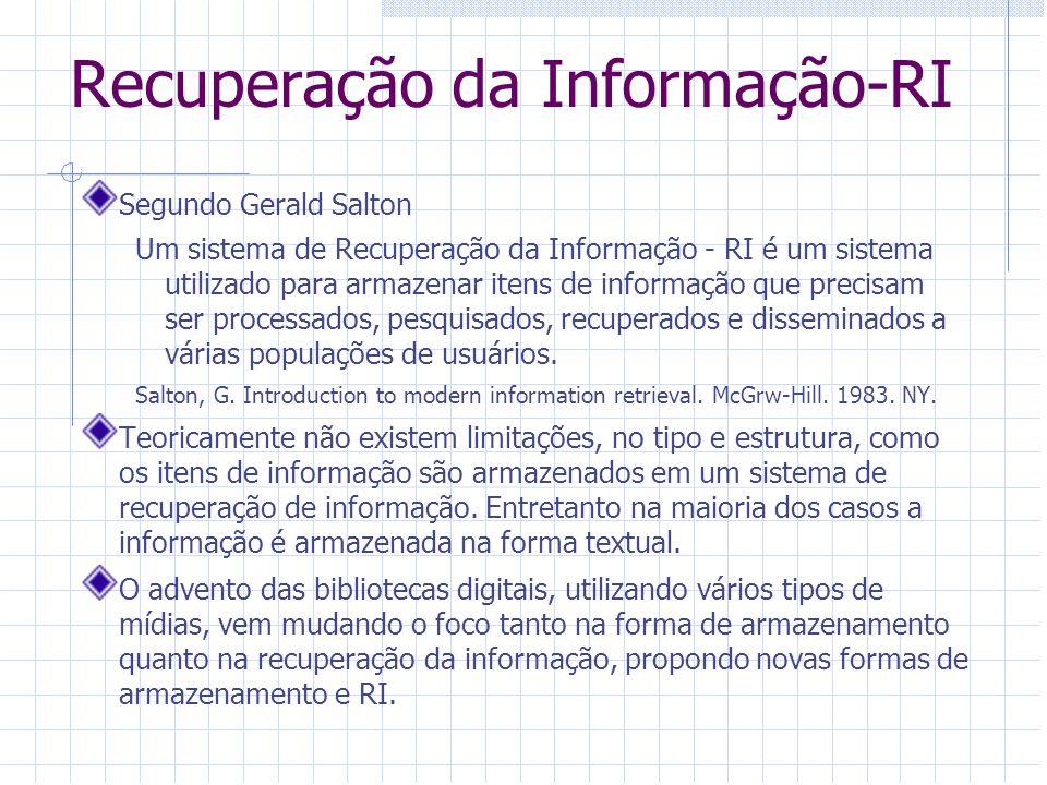Recuperação da Informação-RI
