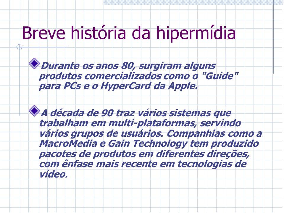 Breve história da hipermídia
