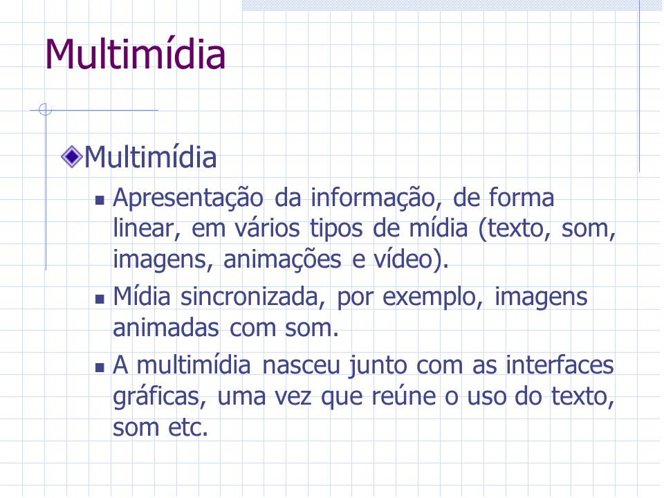 Multimídia Multimídia
