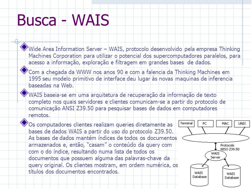 Busca - WAIS