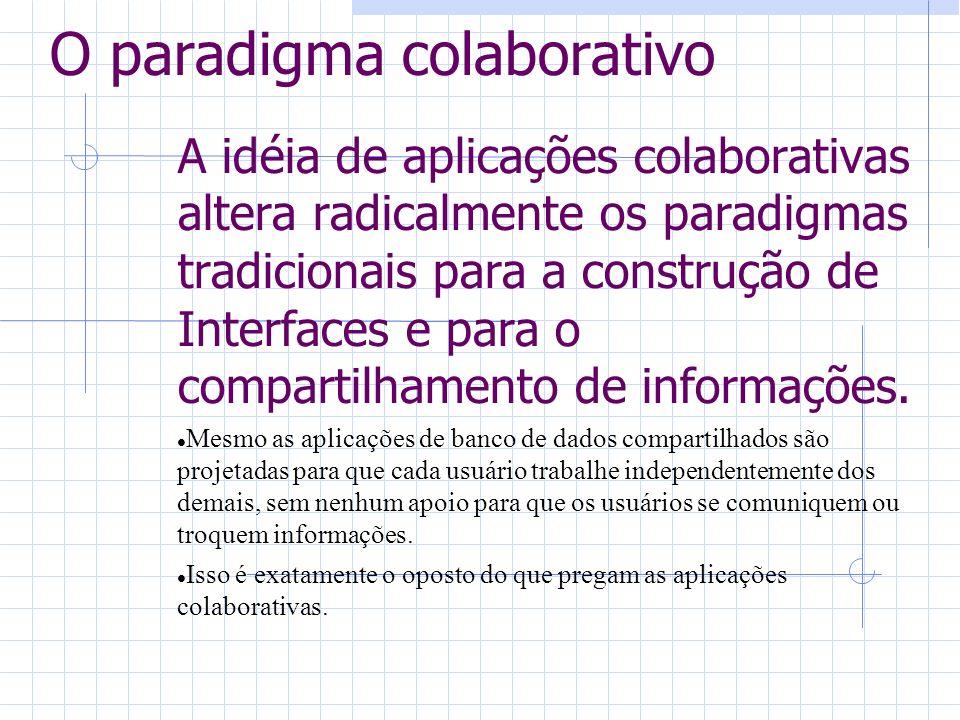O paradigma colaborativo