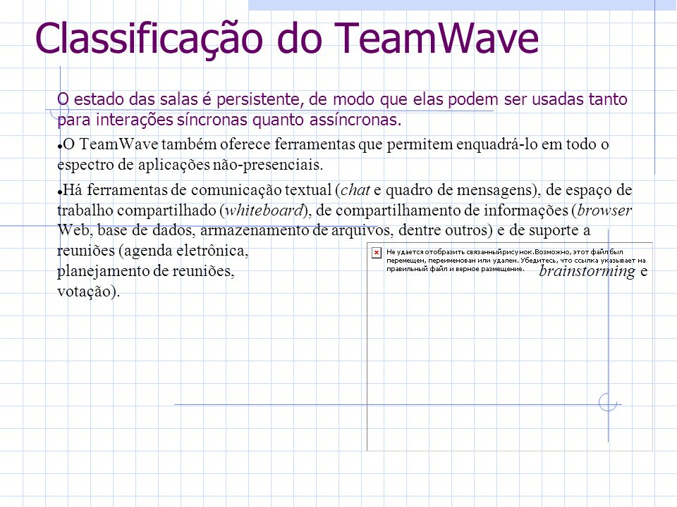 Classificação do TeamWave