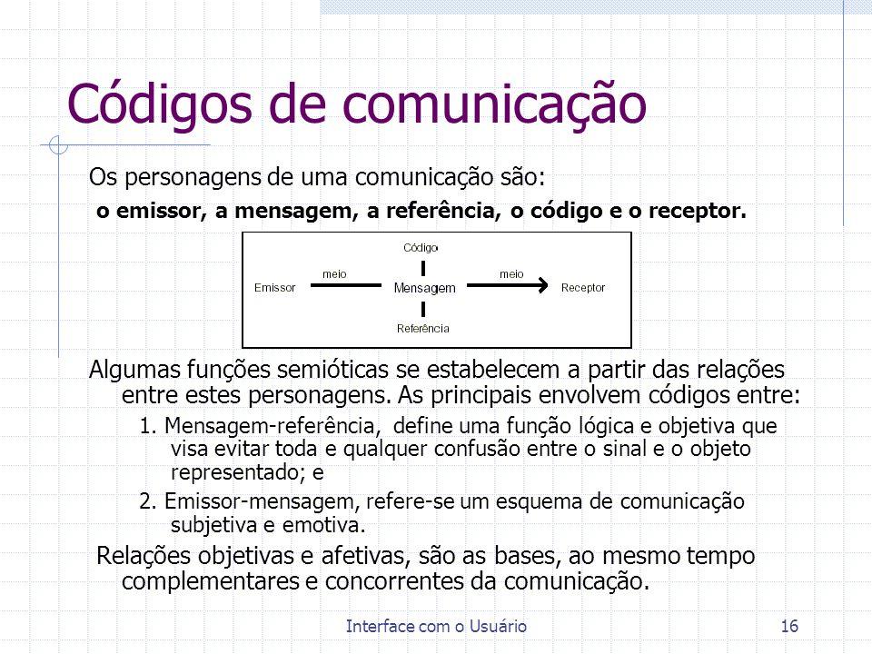 Códigos de comunicação