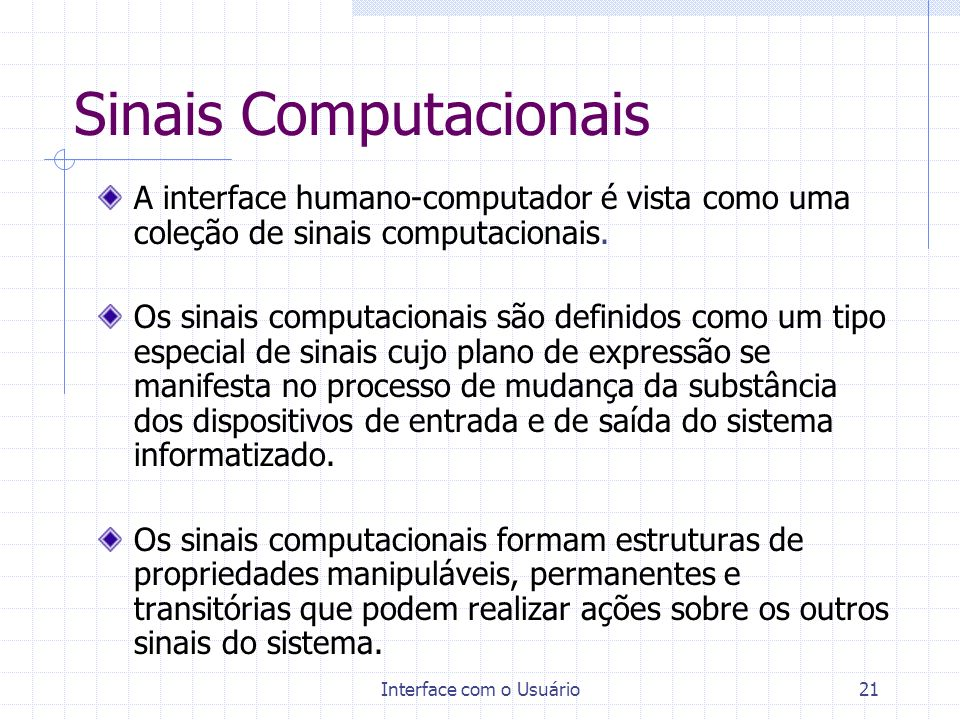 Sinais Computacionais