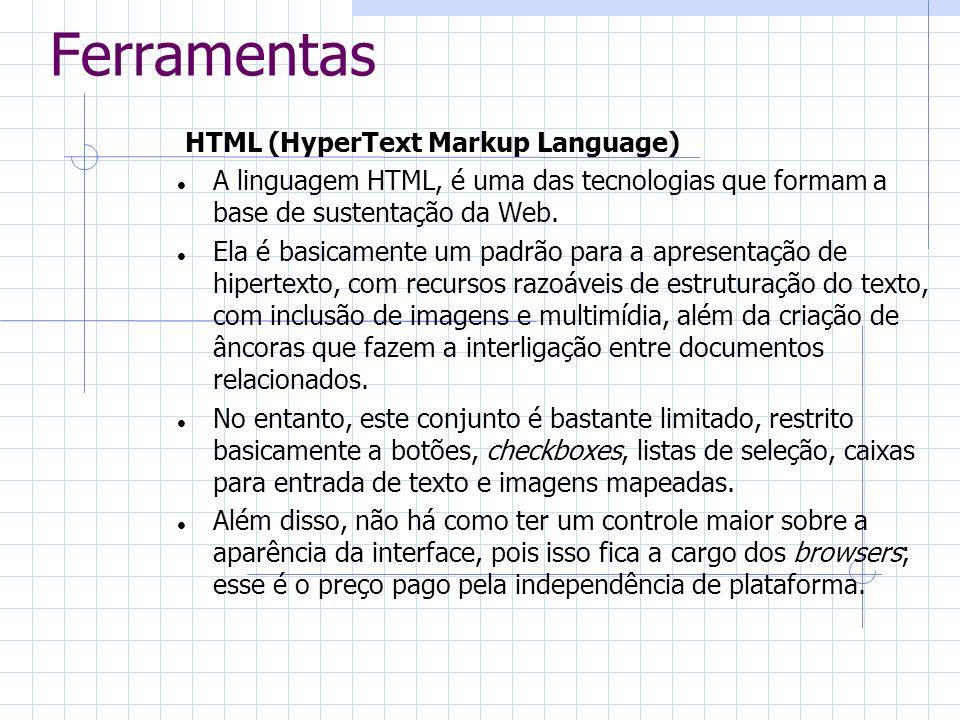 Ferramentas HTML (HyperText Markup Language)