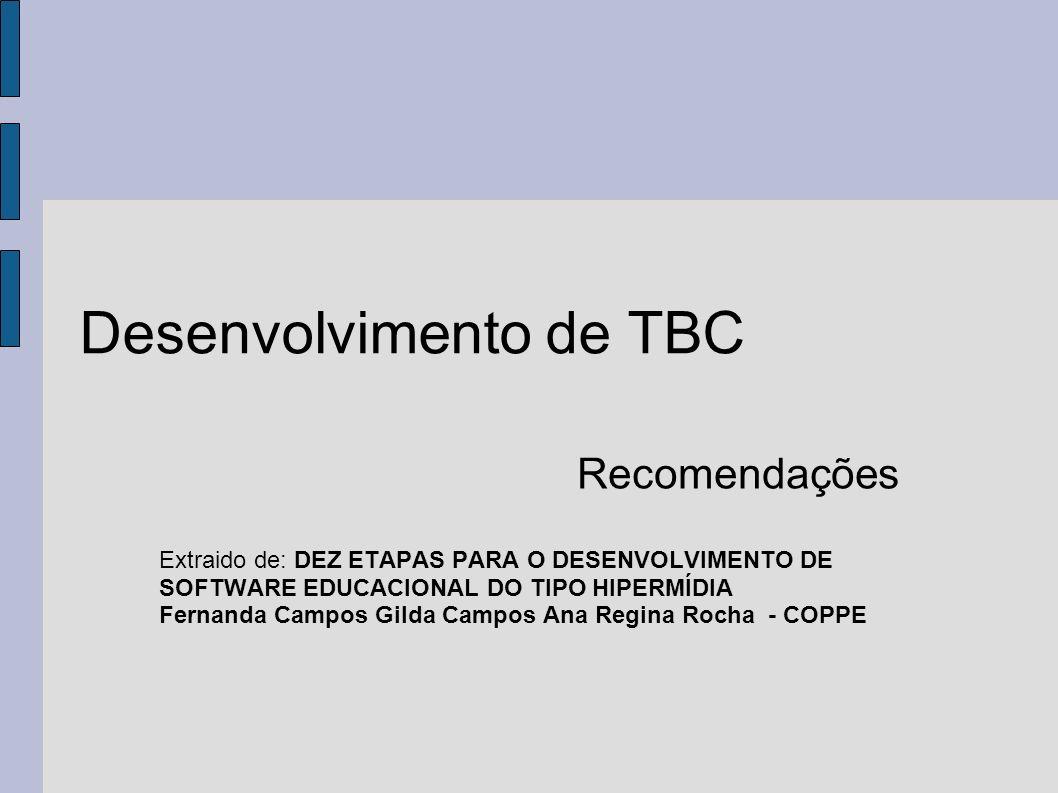 Desenvolvimento de TBC