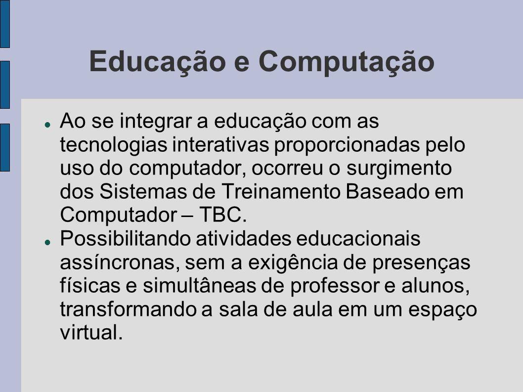 Educação e Computação