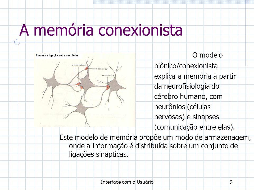 A memória conexionista