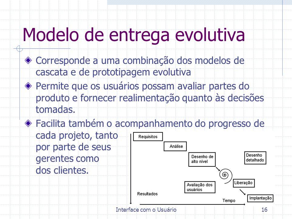 Modelo de entrega evolutiva