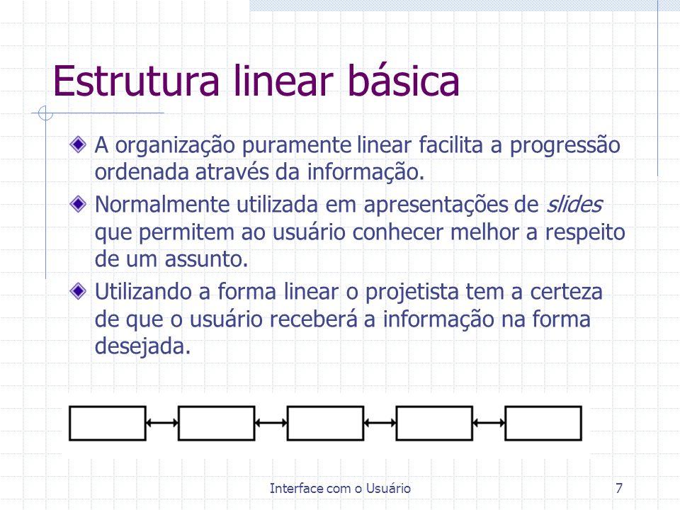 Estrutura linear básica
