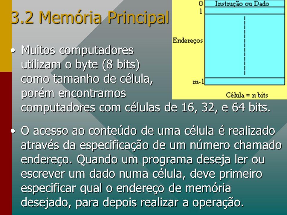 3.2 Memória Principal
