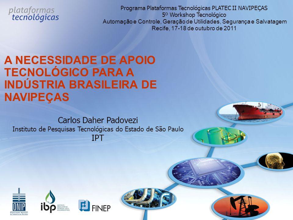 Programa Plataformas Tecnológicas PLATEC II NAVIPEÇAS