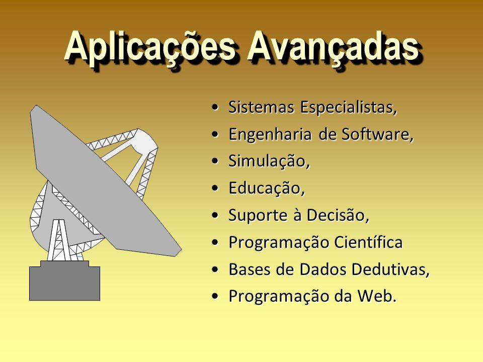 Aplicações Avançadas Sistemas Especialistas, Engenharia de Software,