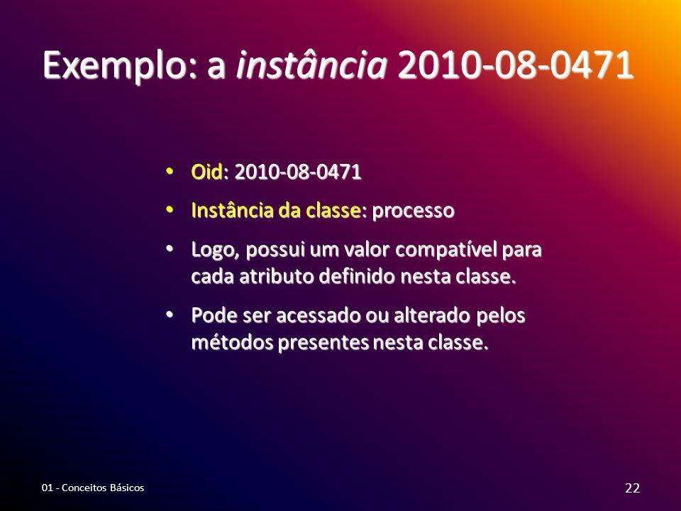 Exemplo: a instância 2010-08-0471