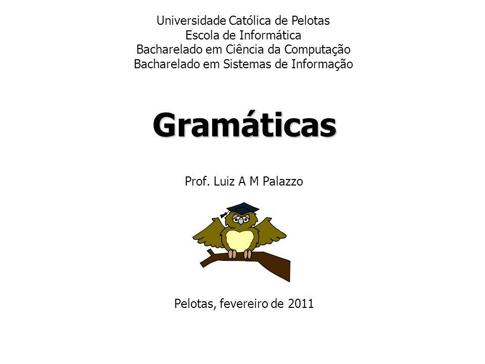 Prof. Luiz A M Palazzo Pelotas, fevereiro de 2011