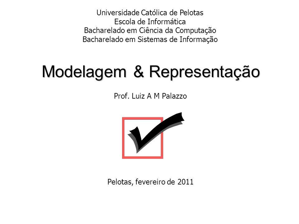 Modelagem & Representação