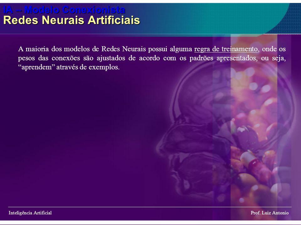 IA – Modelo Conexionista Redes Neurais Artificiais