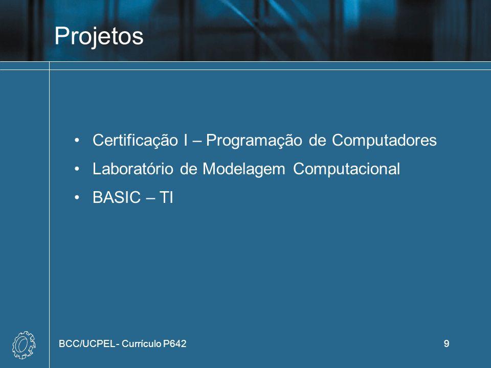Projetos Certificação I – Programação de Computadores