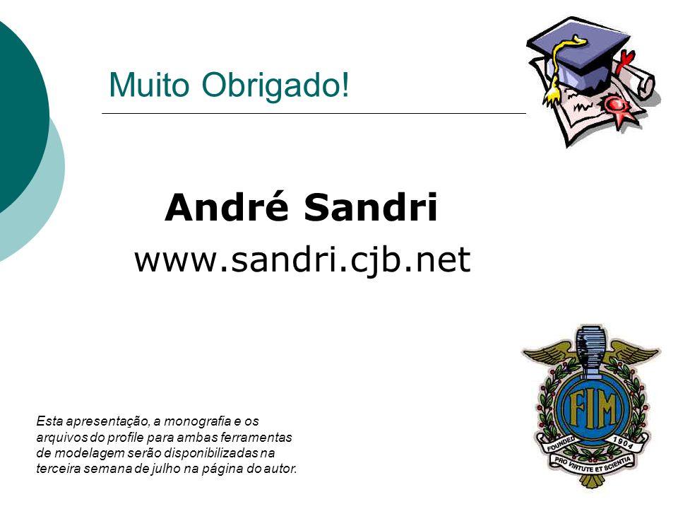 André Sandri www.sandri.cjb.net Muito Obrigado!