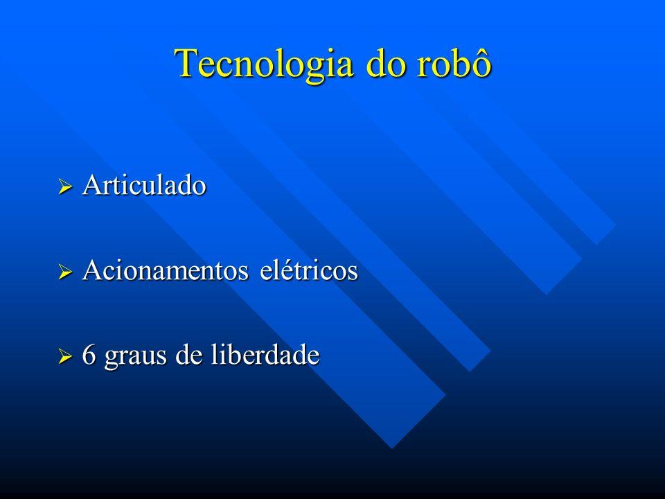Tecnologia do robô Articulado Acionamentos elétricos