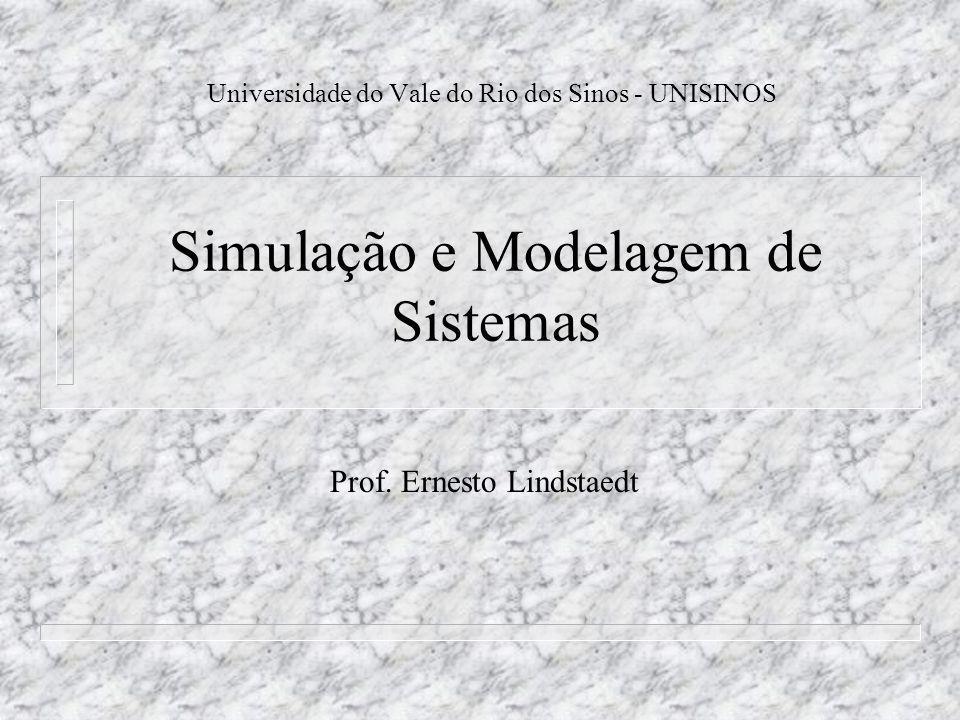 Simulação e Modelagem de Sistemas