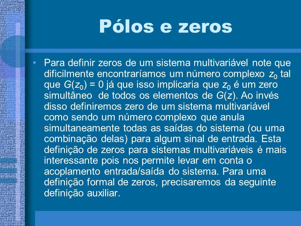 Pólos e zeros