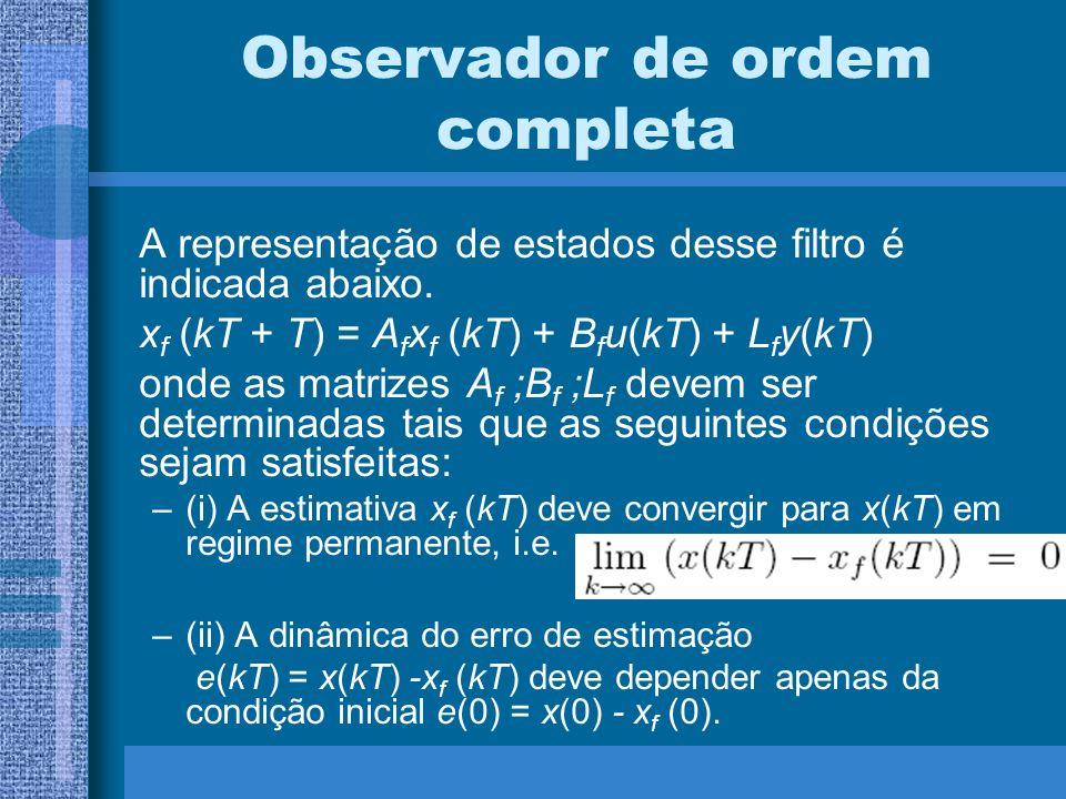 Observador de ordem completa