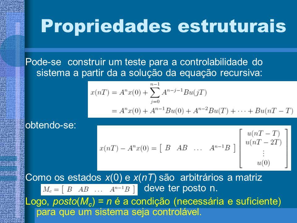 Propriedades estruturais