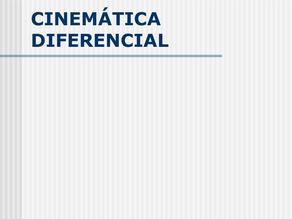 CINEMÁTICA DIFERENCIAL