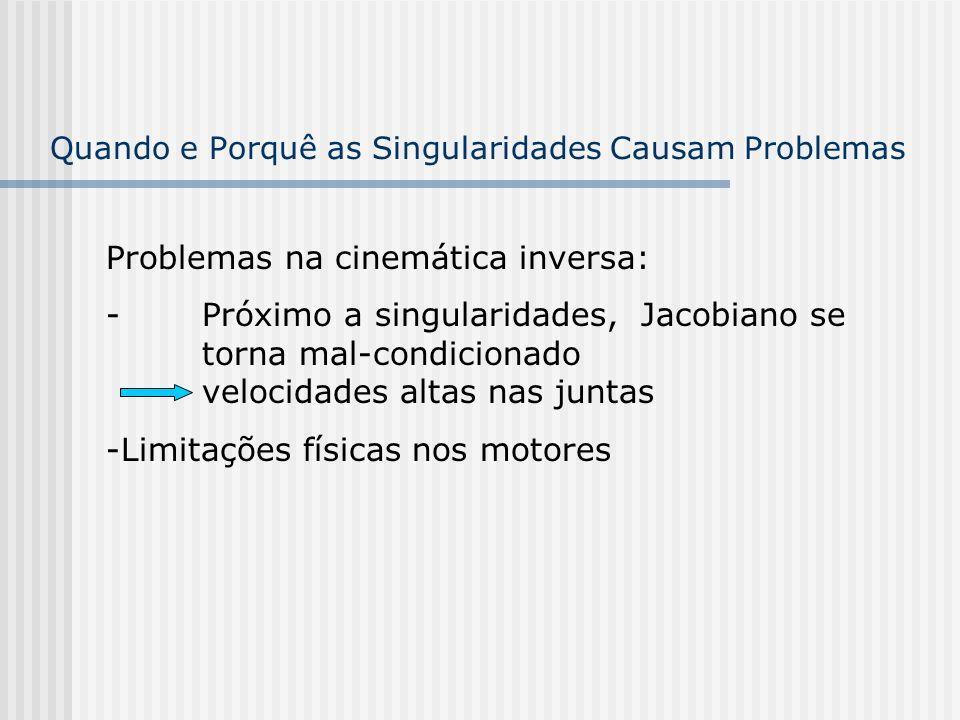 Quando e Porquê as Singularidades Causam Problemas