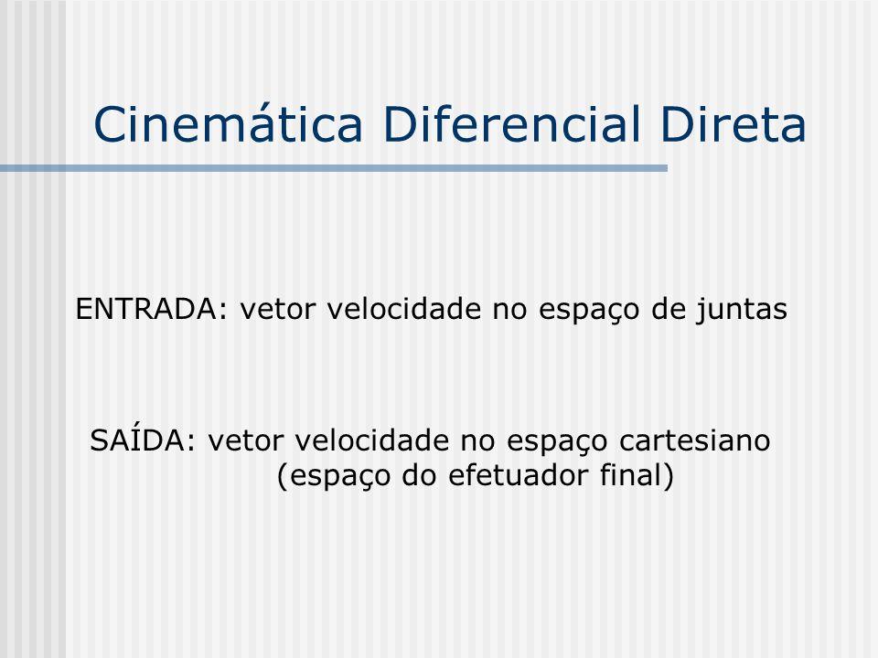 Cinemática Diferencial Direta