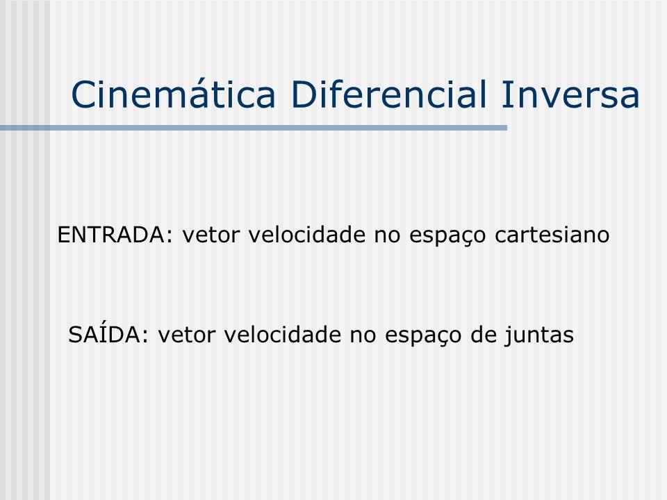 Cinemática Diferencial Inversa