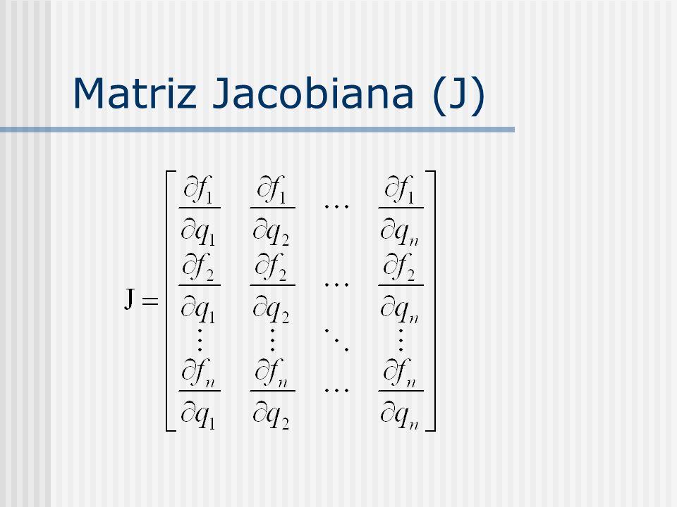 Matriz Jacobiana (J)