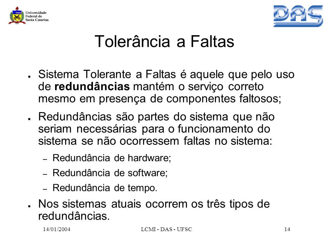 Tolerância a Faltas