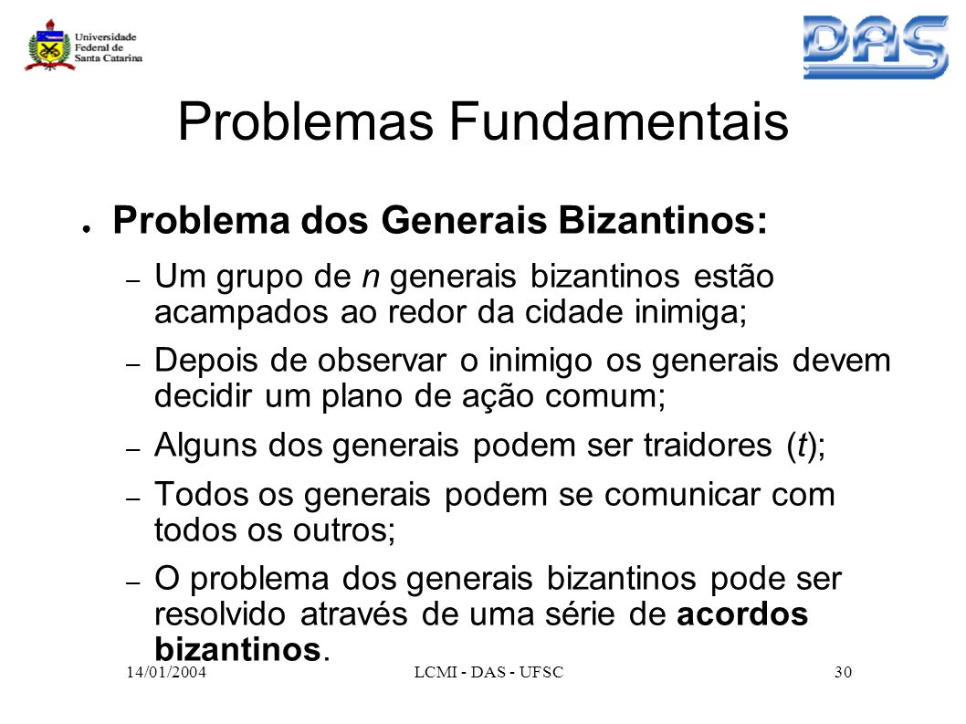 Problemas Fundamentais