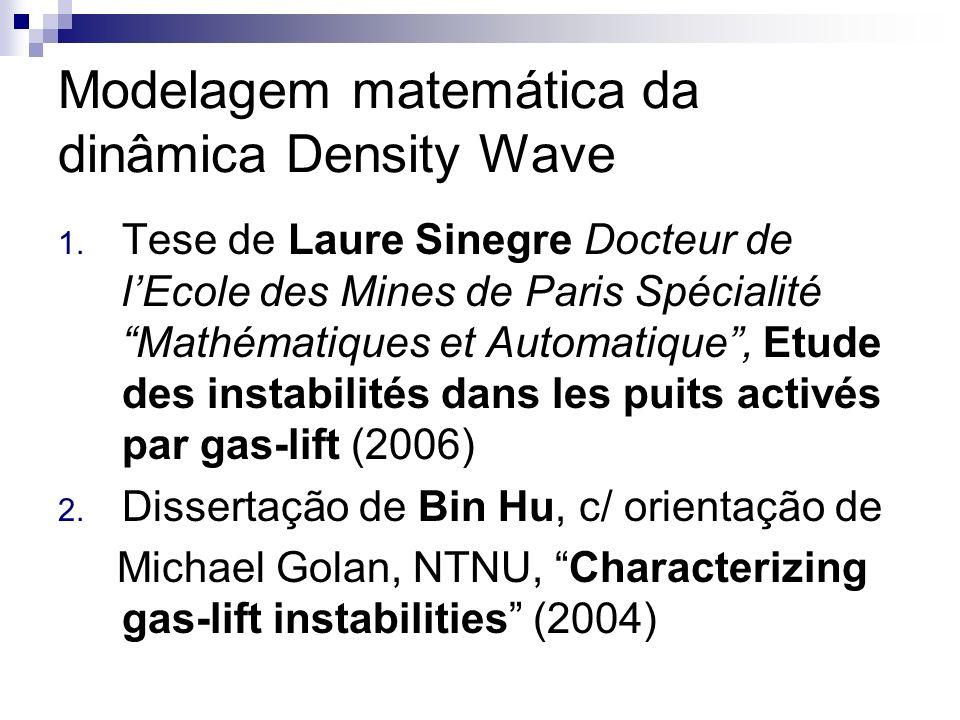 Modelagem matemática da dinâmica Density Wave