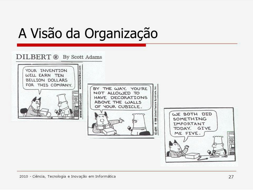 A Visão da Organização 2010 - Ciência, Tecnologia e Inovação em Informática