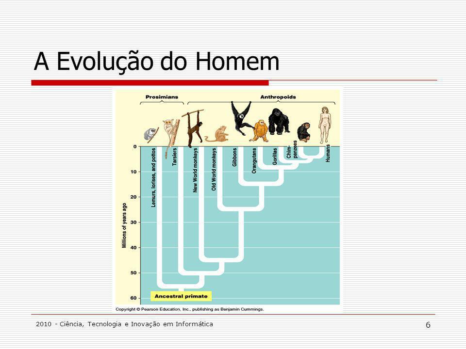 A Evolução do Homem 2010 - Ciência, Tecnologia e Inovação em Informática
