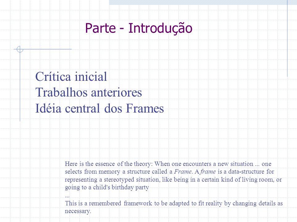 Idéia central dos Frames