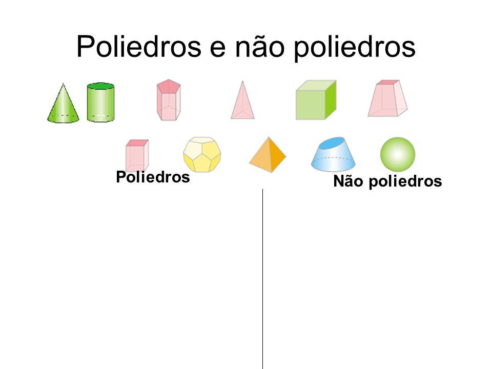 Poliedros e não poliedros
