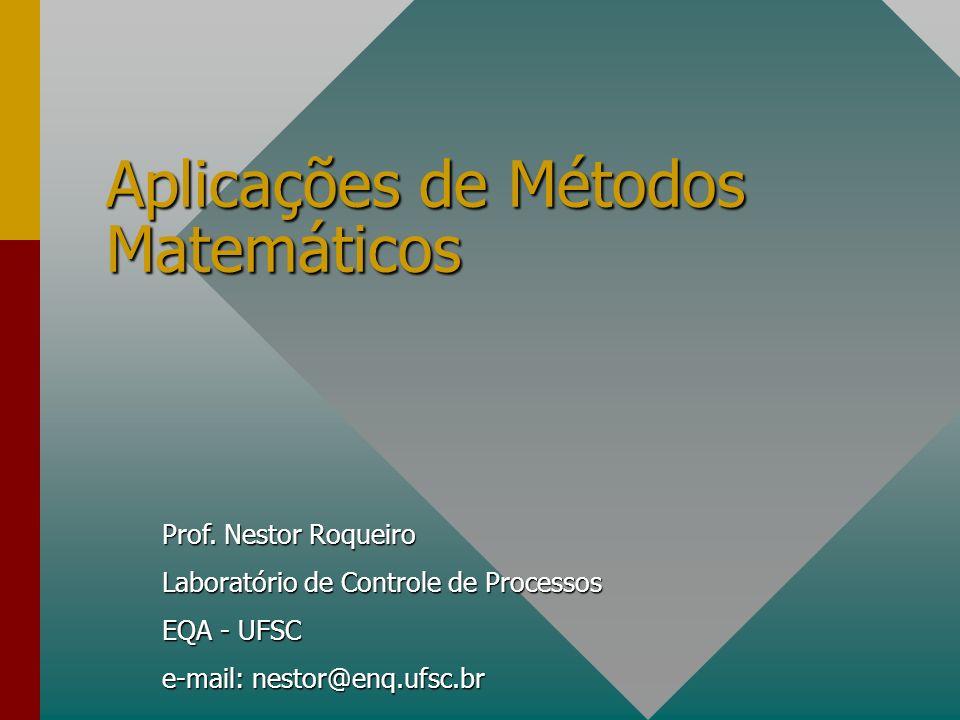 Aplicações de Métodos Matemáticos