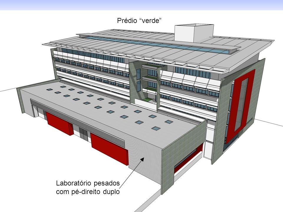 Laboratório pesados com pé-direito duplo