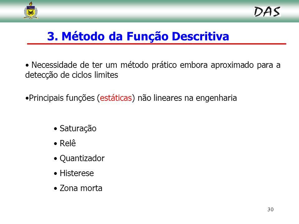 3. Método da Função Descritiva