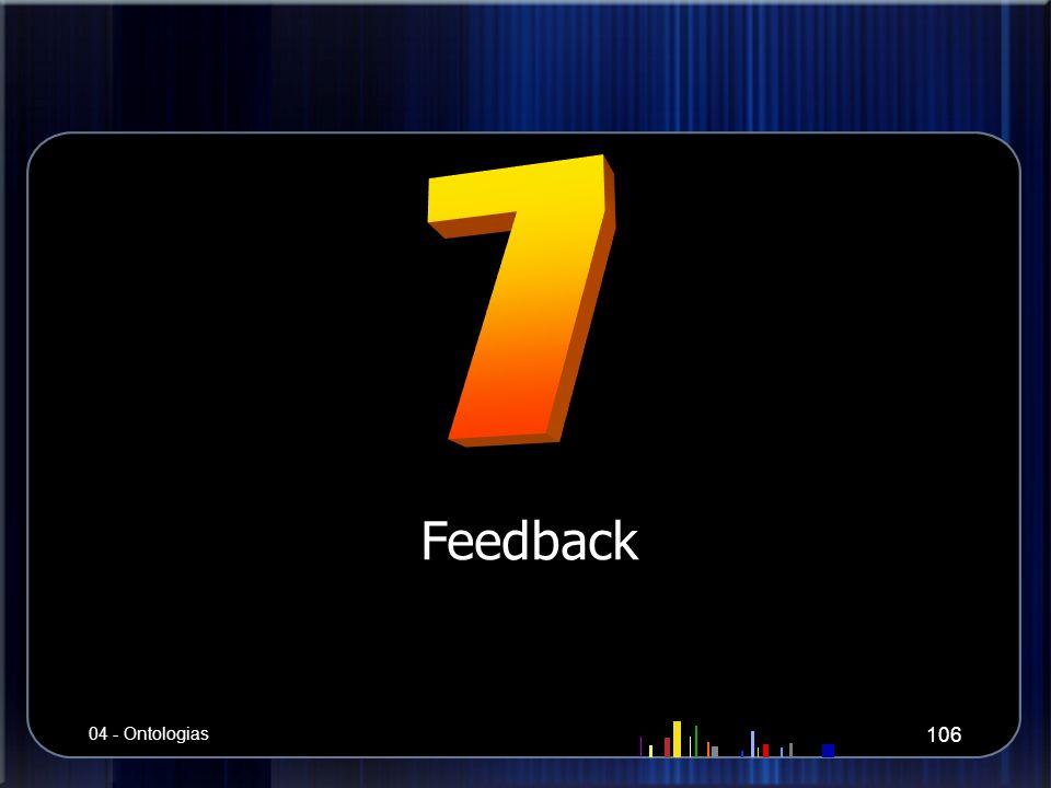 7 Feedback 04 - Ontologias