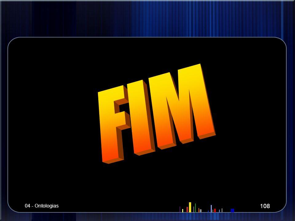 FIM 04 - Ontologias