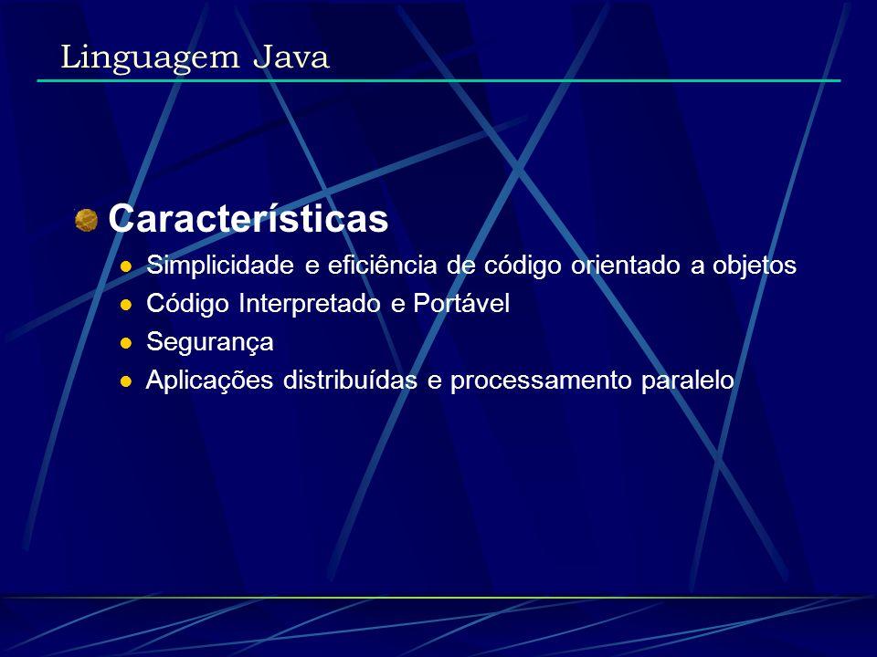 Características Linguagem Java
