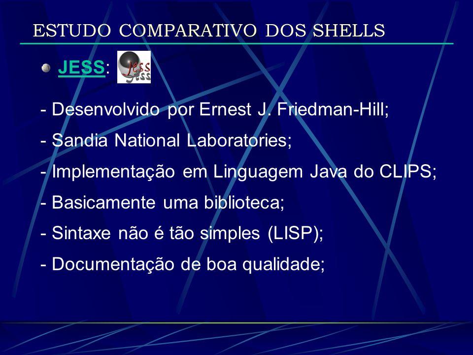 ESTUDO COMPARATIVO DOS SHELLS